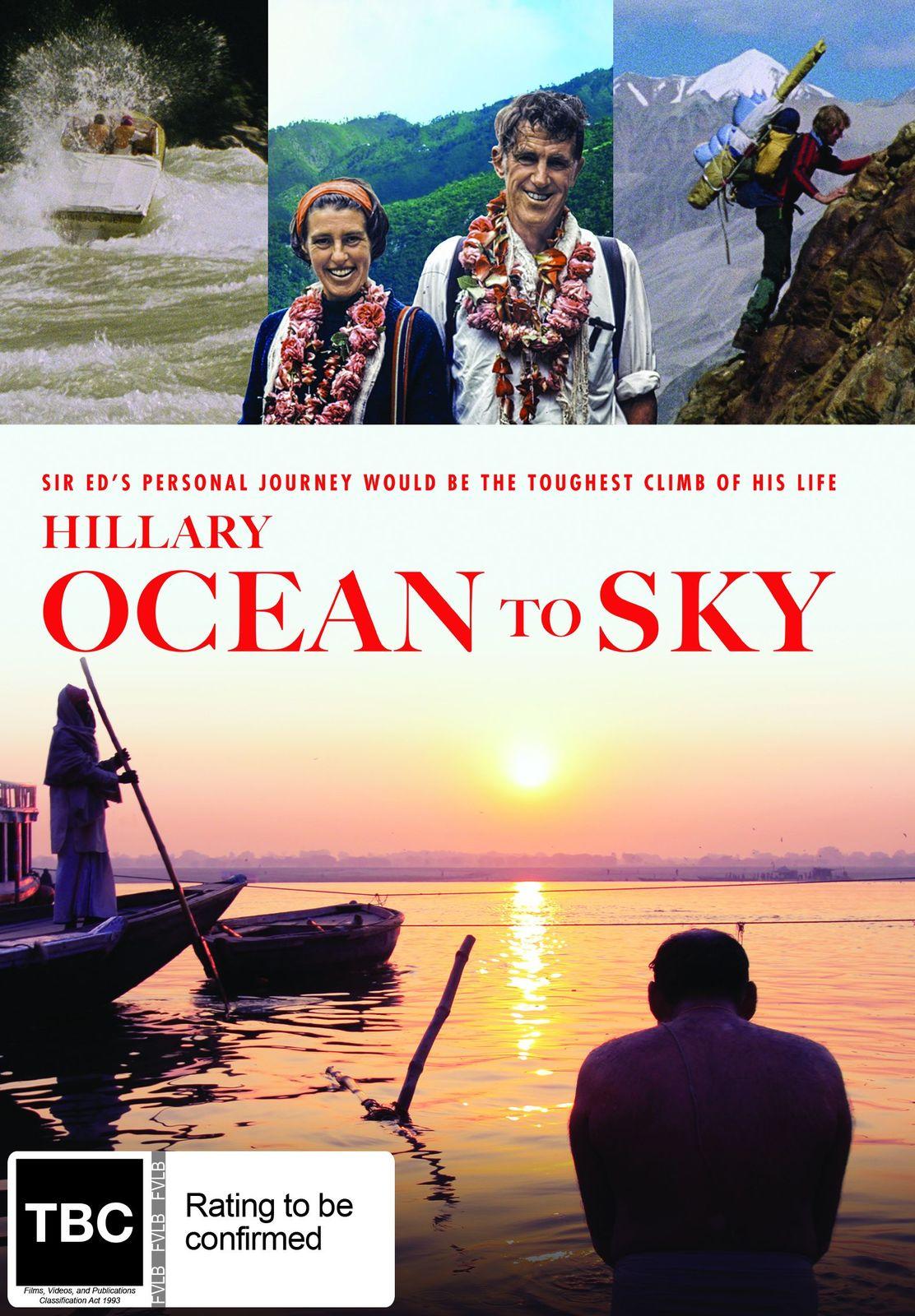 Hillary: Ocean to Sky on DVD image