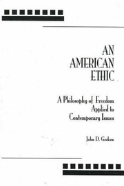 American Ethic, An by John D. Gerken image