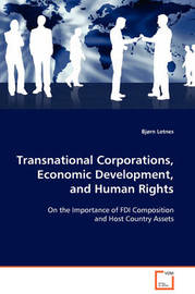 Transnational Corporations, Economic Development, and Human Rights by Bjorn Letnes image