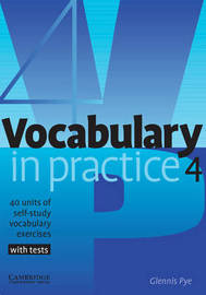 Vocabulary in Practice 4 by Glennis Pye image