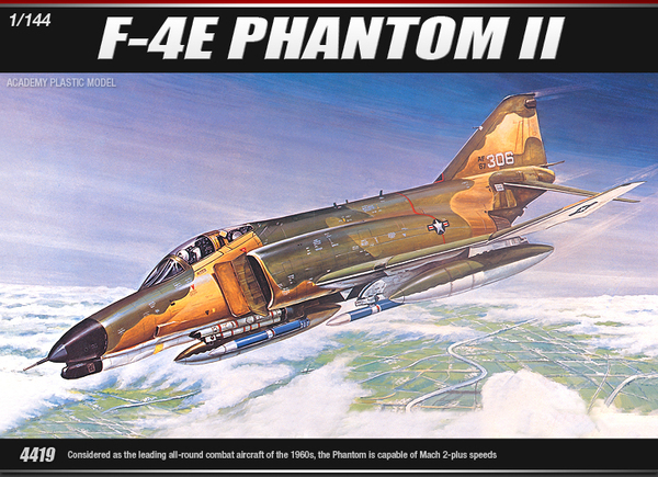 Academy F-4E Phantom 1/144 Model Kit