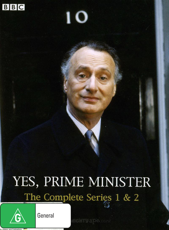Yes Prime Minister - Complete Series 1 & 2 (3 Disc) on DVD