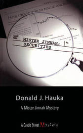 Mister Jinnah: Securities by Donald J Hauka image