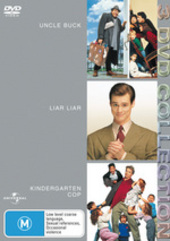 Uncle Buck / Liar Liar / Kindergarten Cop - 3 DVD Collection (3 Disc Set) on DVD