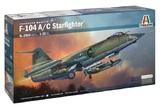Italeri: 1/32 F-104 A/C Starfighter - Model Kit