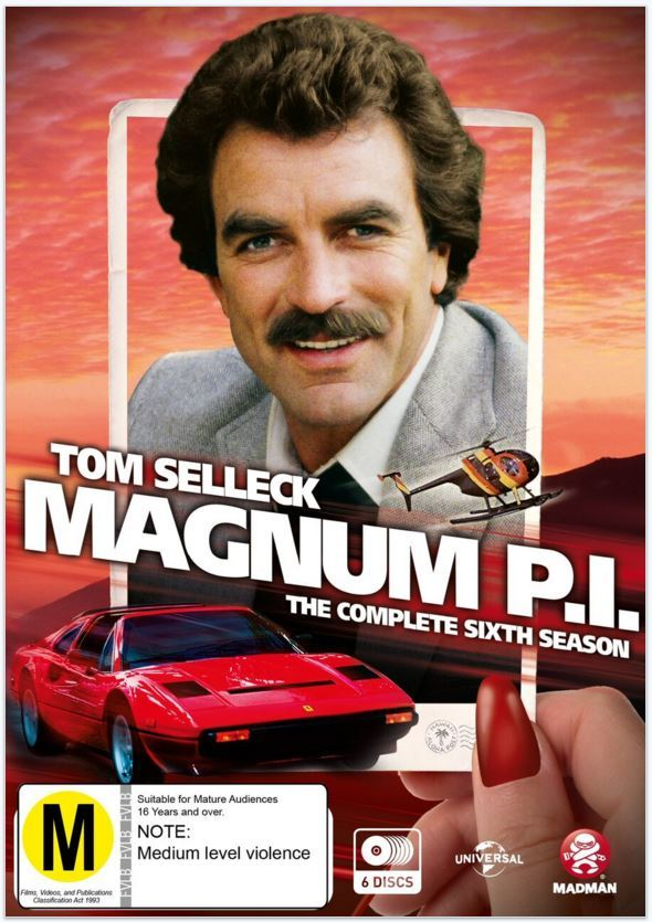 Magnum, P.I. - The Complete Sixth Season on DVD image