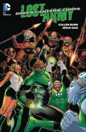 Green Lantern Corps Lost Army TP Vol 1 by Cullen Bunn