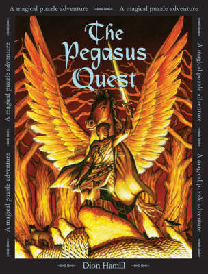 The Pegasus Quest: A Magical Puzzle Adventure by Dion Hamill image