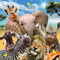 Holdson: Selfies 500pce Jigsaw Puzzle - Savanah Smiles