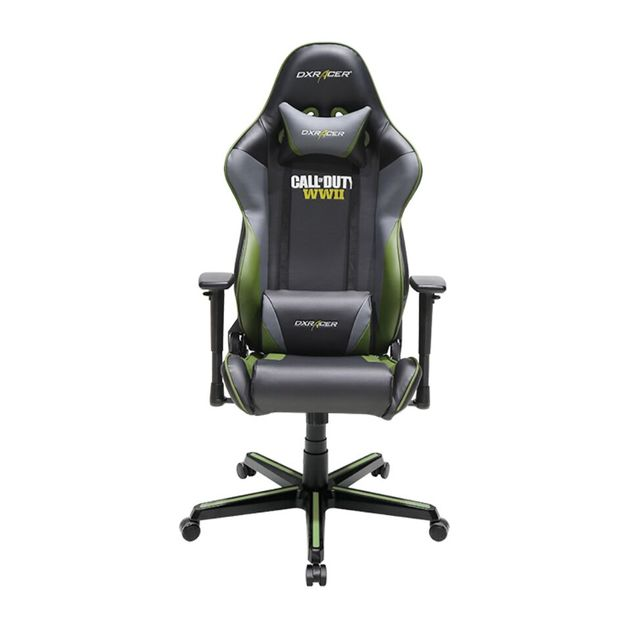 DXRacer Racing Call of Duty WWII Special Edition Gaming Chair for  sc 1 st  Mighty Ape & DXRacer Racing Call of Duty: WWII Special Edition Gaming Chair ...