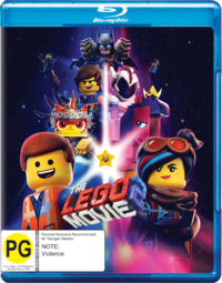 The Lego Movie 2 on Blu-ray