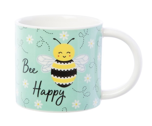 Sass & Belle - Bee Happy Mug (315ml)