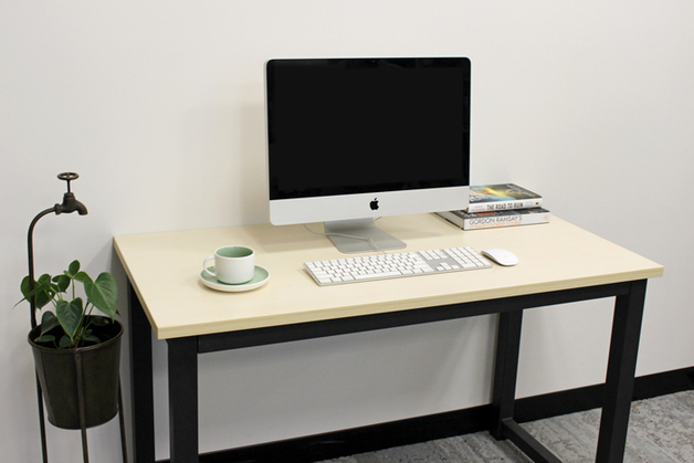 Gorilla Office: Multi-Purpose Desk with Natural Finish Top