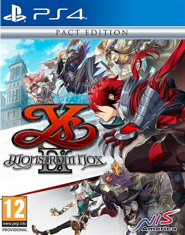 Ys IX: Monstrum Nox Pact Edition for PS4
