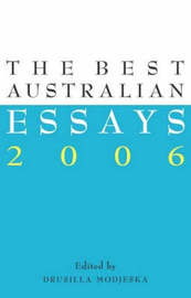 The Best Australian Essays by Drusilla Modjeska image