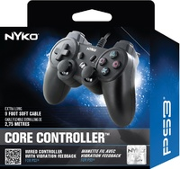 Nyko PlayStation 3 Controller (Black) for PS3
