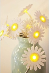 Decorative String Lights Nz : Delight Decor: Chain Battery Felt String Lights - Daisy at Mighty Ape NZ