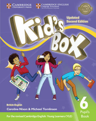 Kid's Box Level 6 Pupil's Book British English by Caroline Nixon image