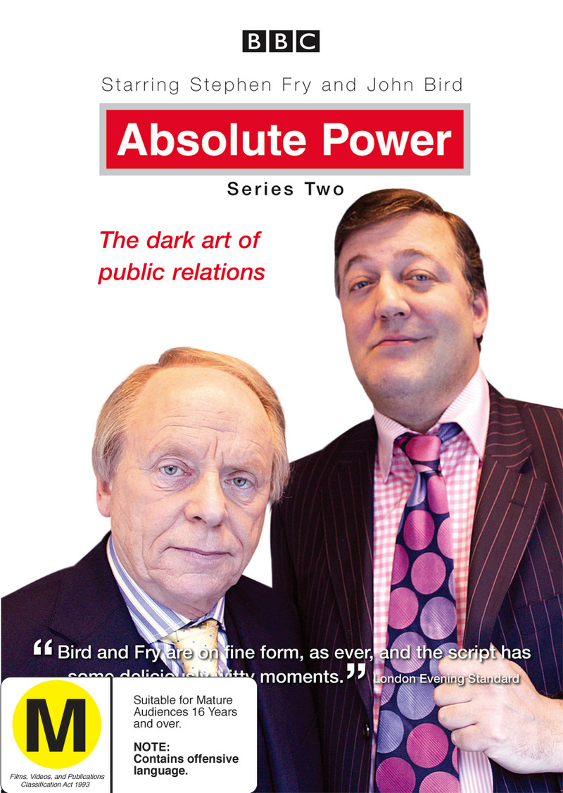 Absolute Power (2003) - Series 2 on DVD image