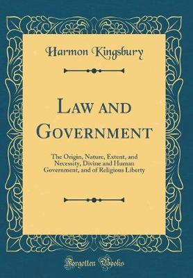 Law and Government by Harmon Kingsbury