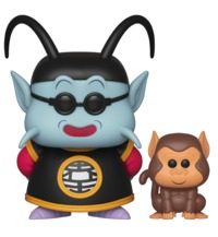 Dragon Ball Z – King Kai & Bubbles Pop! Vinyl Figure