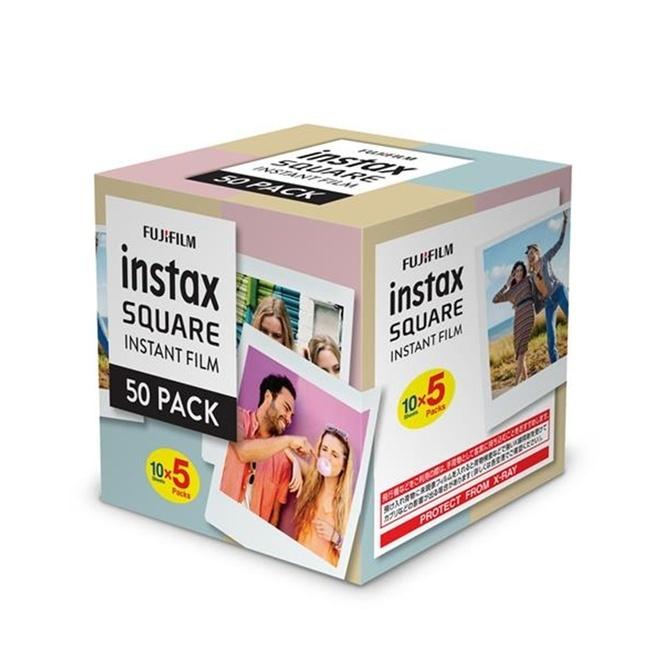 Fujifilm: Instax Square Film - White (50 Pack) image
