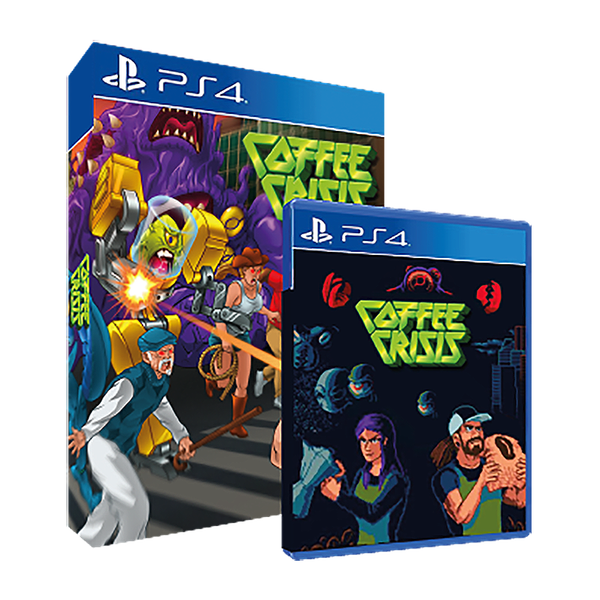 Coffee Crisis Special Edition for PS4