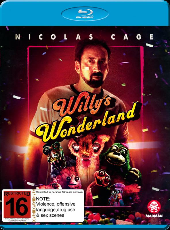 Willy's Wonderland on Blu-ray