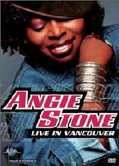 Angie Stone - Live In Vancouvers Island on DVD