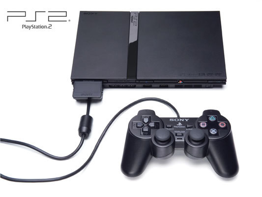 PlayStation 2 Console Black (Slim Model) for PlayStation 2 image