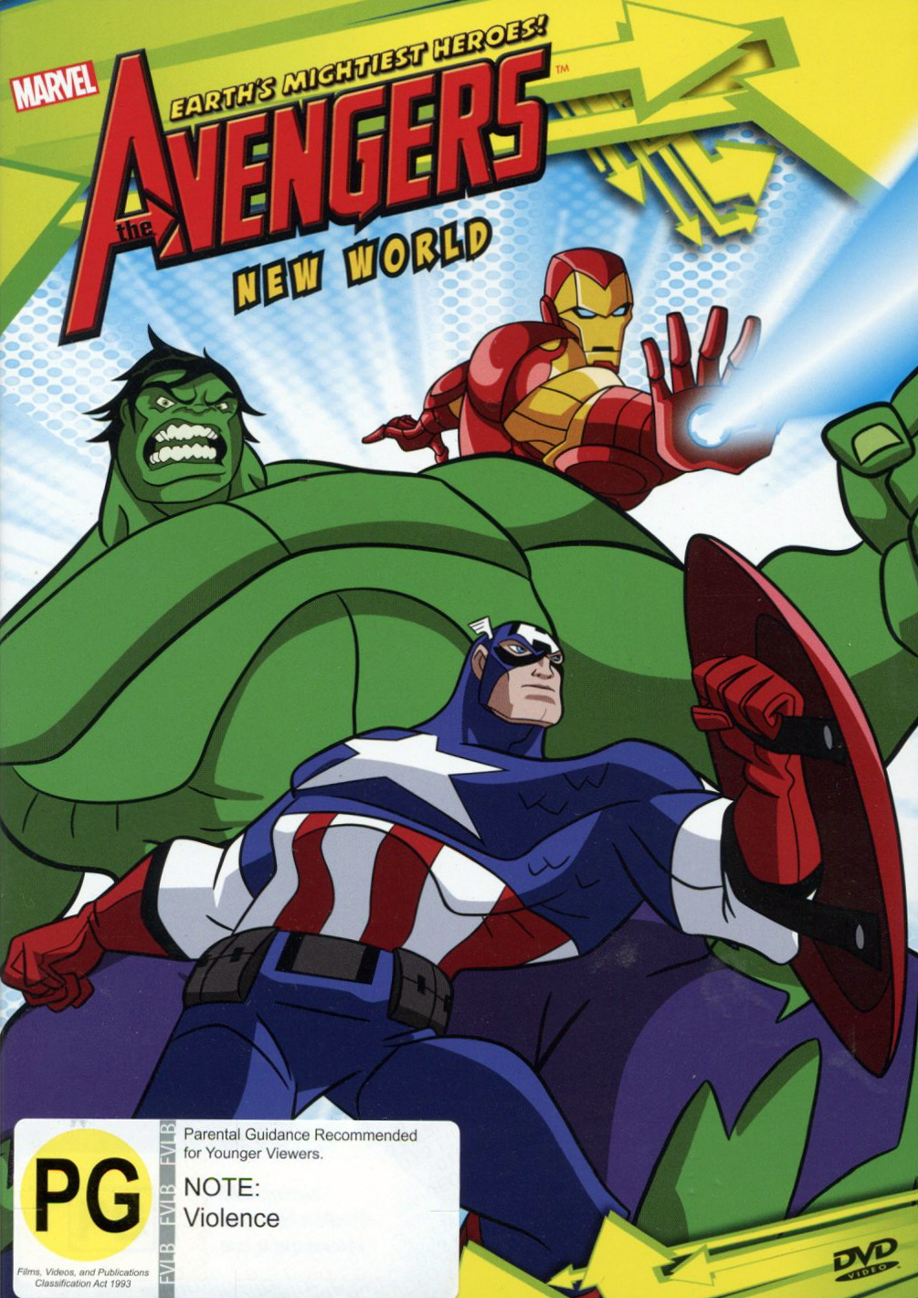 The Avengers: New World on DVD image