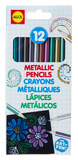 Alex: Metallic Pencils - 12 Piece
