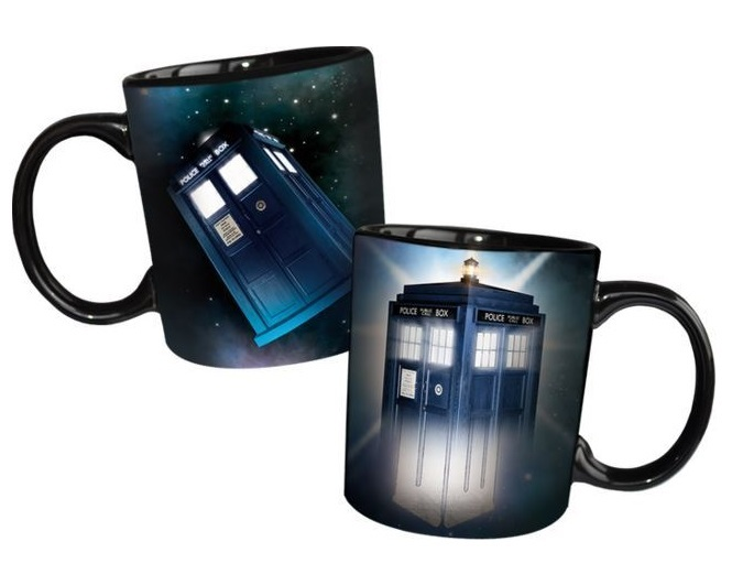Doctor Who - Disappearing Tardis Mug image