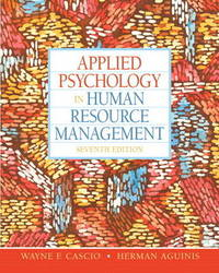 Applied Psychology in Human Resource Management by Wayne F. Cascio image