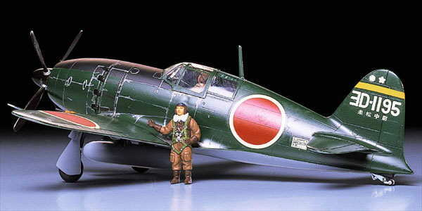 Tamiya 1/48 Mitsubishi J2M3 Interceptor Raiden (Jack) - Model Kit
