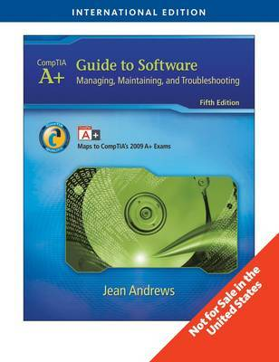 A+ Guide to Software by Jean Andrews image
