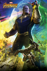 Avengers Infinity War - Thanos (729)