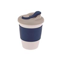 Oasis Plastic Coffee Cup - Navy (340ml)