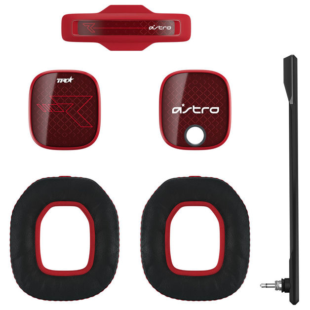 Astro A40 TR Mod Kit (Red) for PC