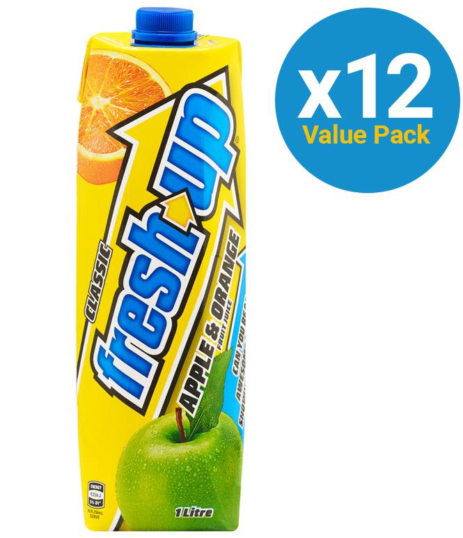 Fresh Up Prisma Apple & Orange 1L (12 Pack) image