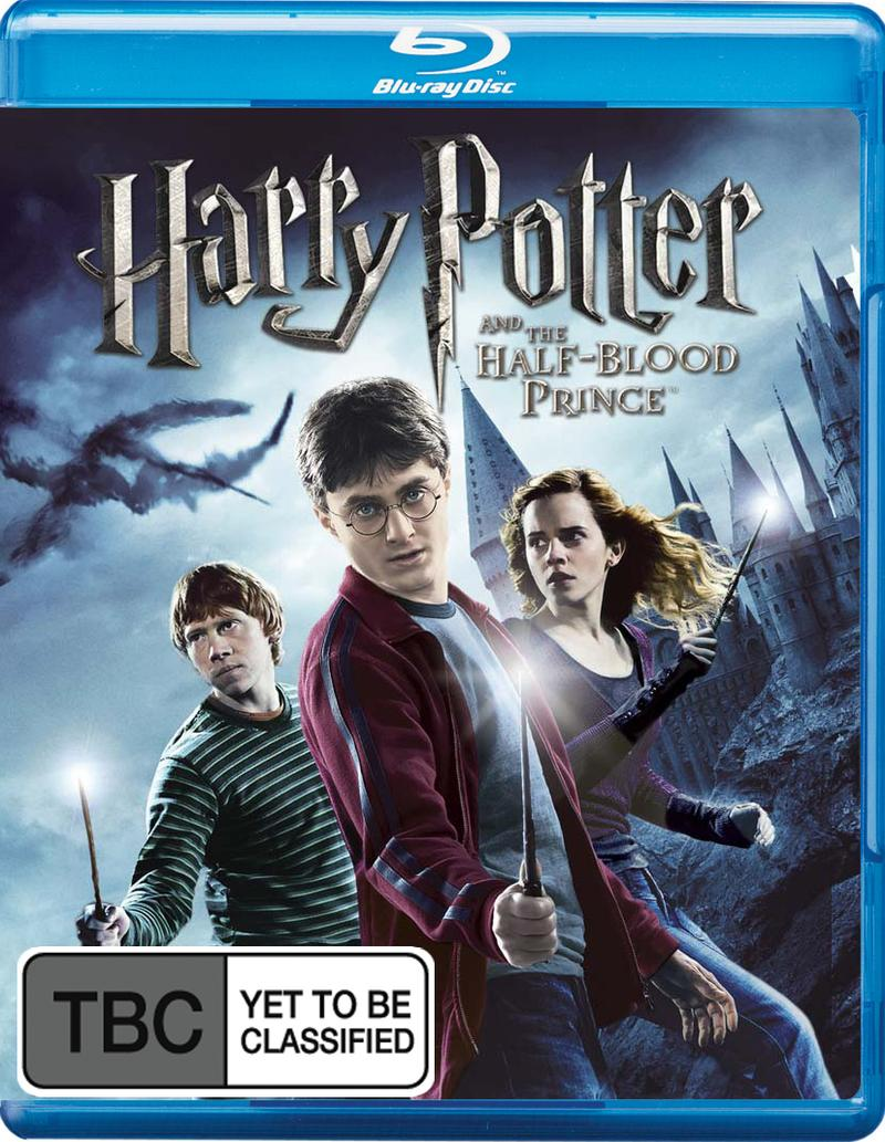 Harry Potter and the Half-Blood Prince (2 Disc Set) + free Digital Copy on Blu-ray, DC image