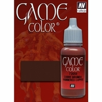 Vallejo Game Colour Hammered Copper 17ml