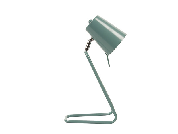 Leitmotiv quotzquot table lamp teal blue at mighty ape australia for Leitmotiv table lamp z metal