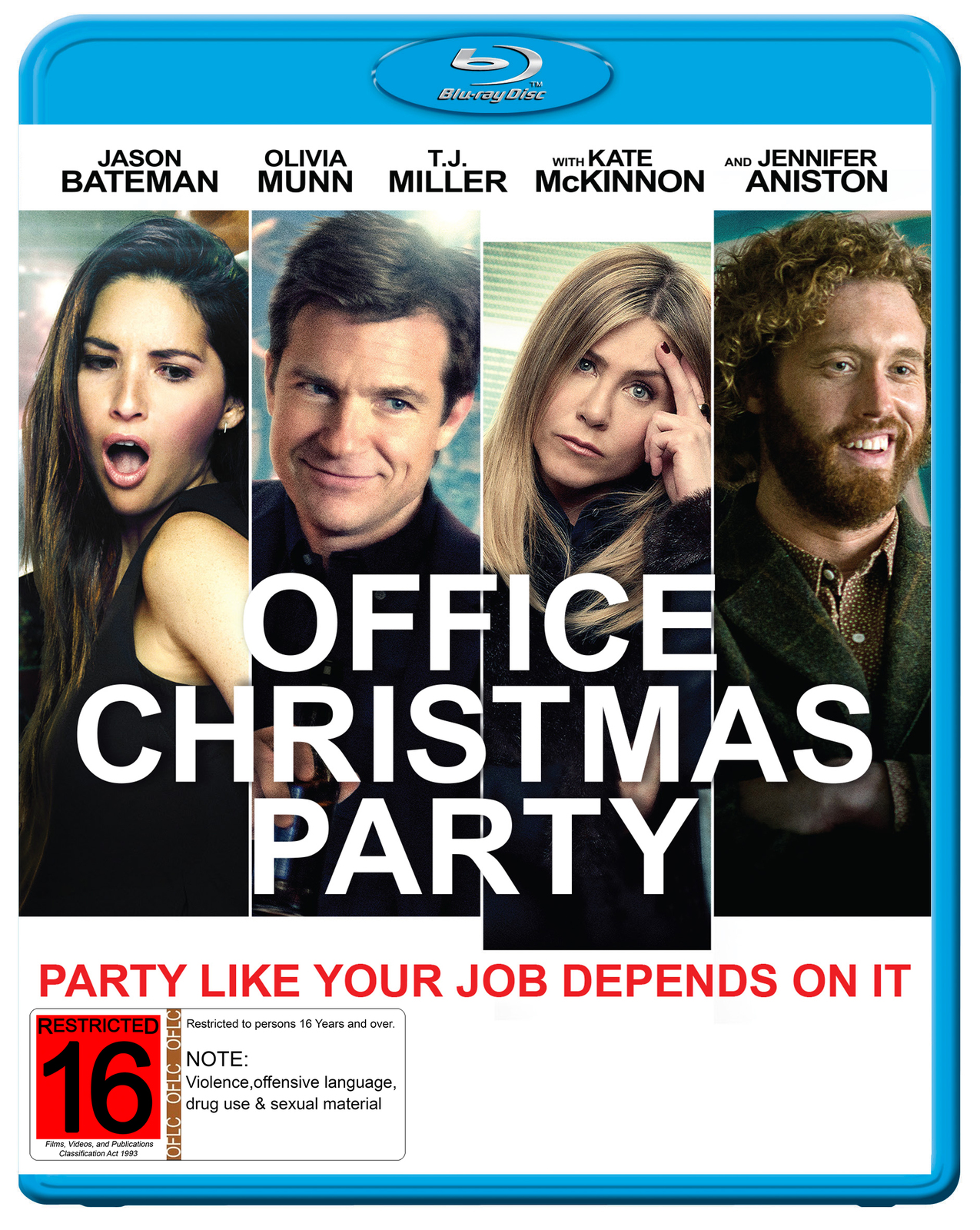 Office Christmas Party   Blu-ray   In-Stock - Buy Now   at Mighty Ape NZ