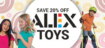 20% off Alex Toys