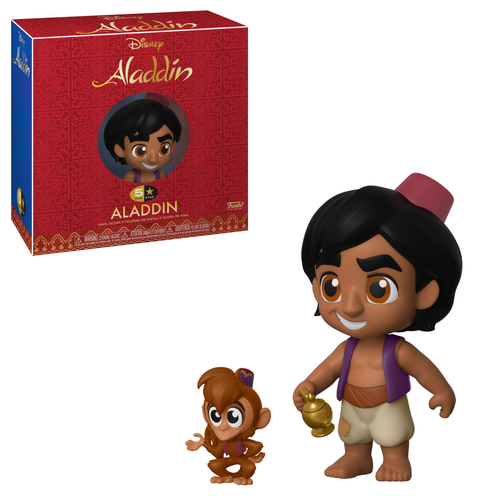 Aladdin: Aladdin with Abu - 5-Star Vinyl Figure image