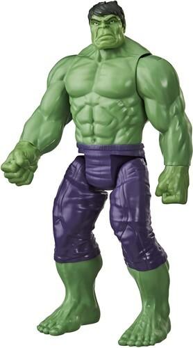 Marvel Avengers: Titan Hero Series Blast Gear Deluxe Action Figure - Hulk