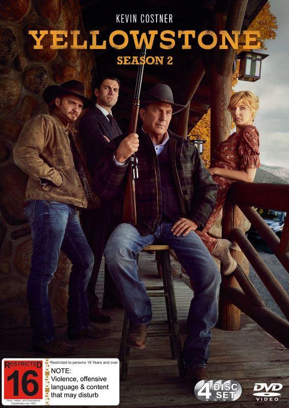 Yellowstone - Season 2 on DVD