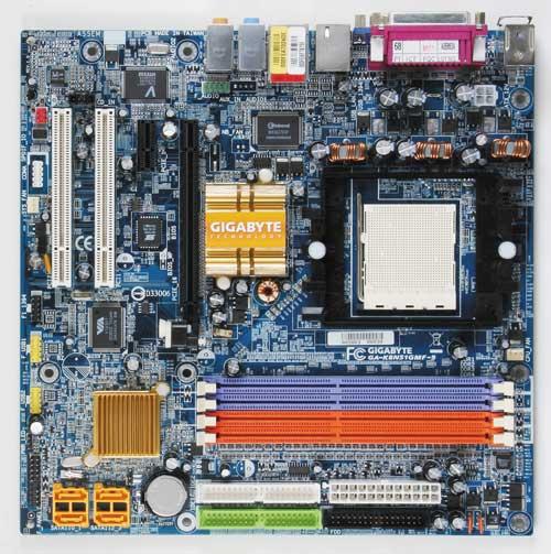 Gigabyte Motherboard Socket 939 GA-K8N51GMF-9 image