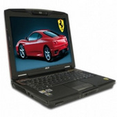 Acer Ferrari 1005WTMI TL60 X2 160GB 2GB DVDRW